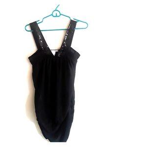 Junior M Black Charlotte Russe Dress